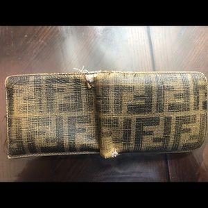 Fendi Bags - AUTHENTIC men's Fendi Wallet with ID window